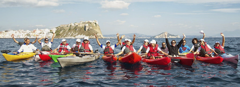 Procida in Kayak